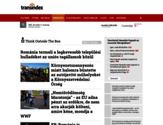 think.transindex.ro screenshot