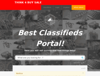 think4buysale.nl screenshot