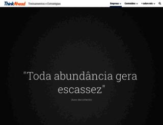 thinkahead.com.br screenshot