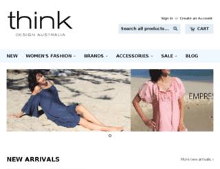 thinkdesignonline.com.au screenshot
