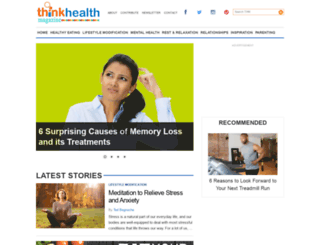 thinkhealthmag.com screenshot