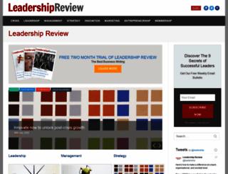 thinkingmanagers.com screenshot