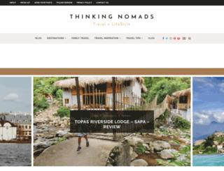 thinkingnomads.com screenshot