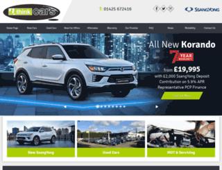 thinkingofcars.co.uk screenshot