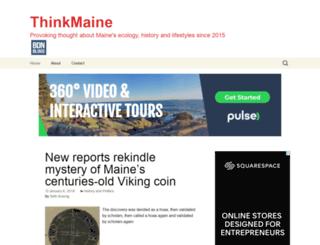 thinkmaine.bangordailynews.com screenshot