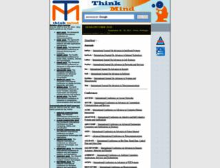 thinkmind.org screenshot
