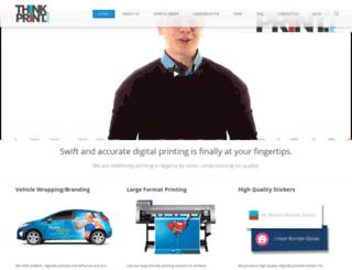 thinkprint.press screenshot