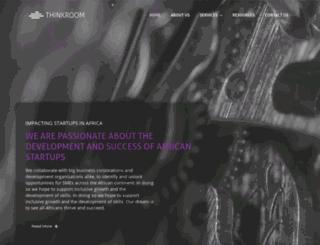 thinkroom.co.za screenshot