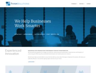 thinksolutions.net screenshot