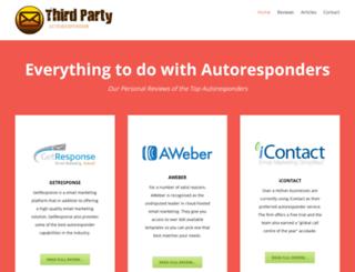 thirdpartyautoresponder.com screenshot