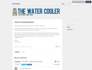 thirst.co screenshot
