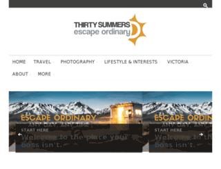 thirtysummers.com screenshot