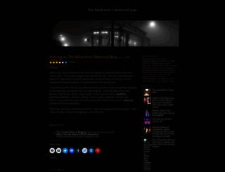 thisblksistaspage.wordpress.com screenshot