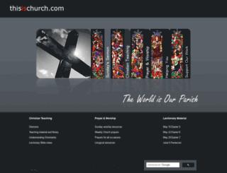 thisischurch.com screenshot