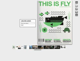 thisisfly.com screenshot