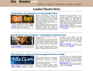 thisistheatre.com screenshot