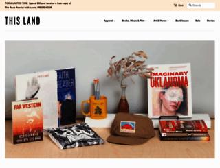 thislandpress.com screenshot