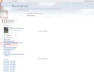 thislife.blogspot.nl screenshot