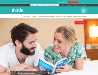 thistle.co.uk screenshot