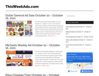thisweekads.com screenshot