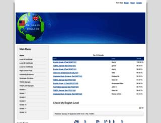 thithutienganh.com screenshot