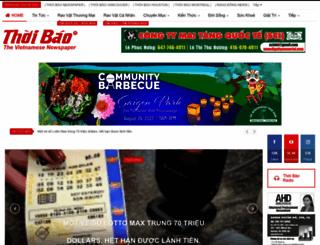 thoibao.com screenshot