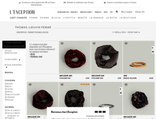 thomas-lieuvin.lexception.com screenshot
