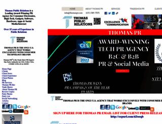 thomas-pr.com screenshot