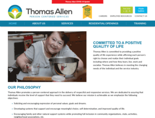 thomasalleninc.com screenshot