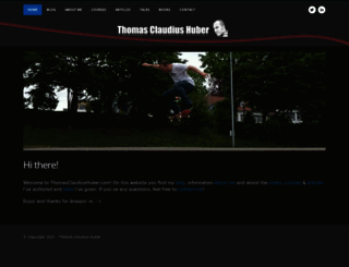 thomasclaudiushuber.com screenshot