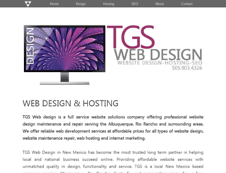 thomasgarciastudio.com screenshot