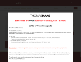 thomashaas.com screenshot