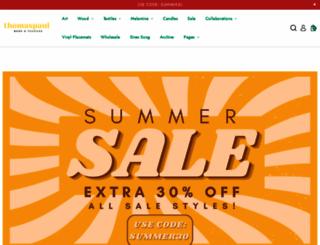 thomaspaul.com screenshot