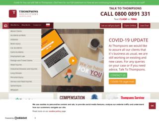 thompsons-scotland.co.uk screenshot