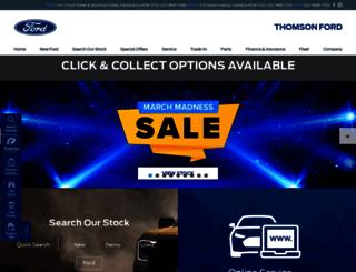 thomsonford.com.au screenshot