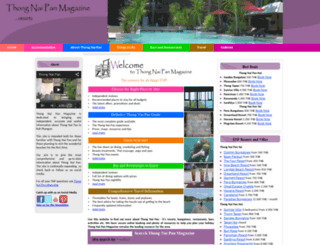 thongnaipan-magazine.com screenshot