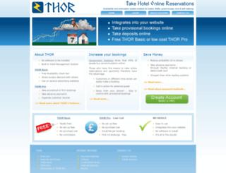 thor.org.uk screenshot