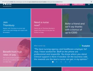 thornbury-nursing.com screenshot
