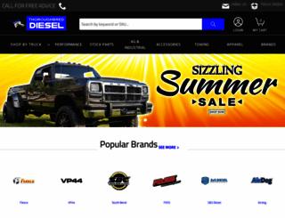 thoroughbreddiesel.com screenshot