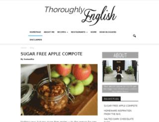 thoroughlyenglish.com screenshot