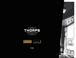 thorps.org screenshot