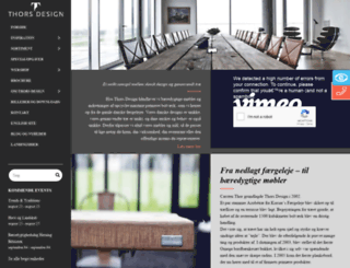 thors-design.dk screenshot