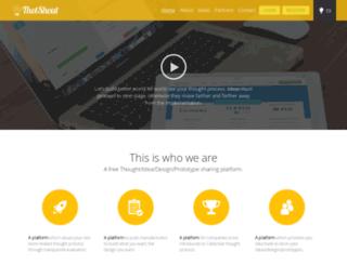 thotshout.com screenshot