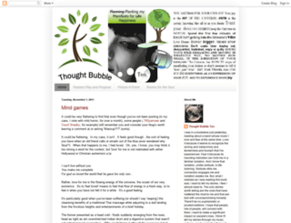 thoughtbubbleten.blogspot.com screenshot