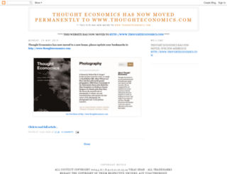 thoughteconomics.blogspot.com screenshot