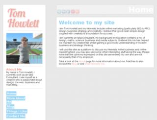 thowlett.co.uk screenshot