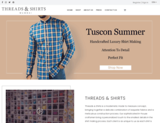 threadsandshirts.com screenshot