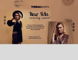threadsence.com screenshot