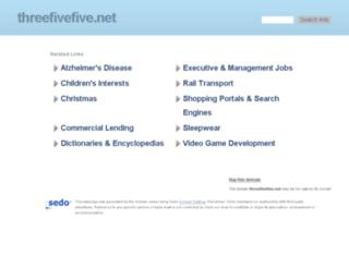 threefivefive.net screenshot