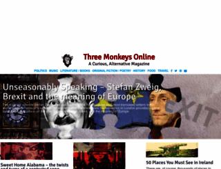 threemonkeysonline.com screenshot